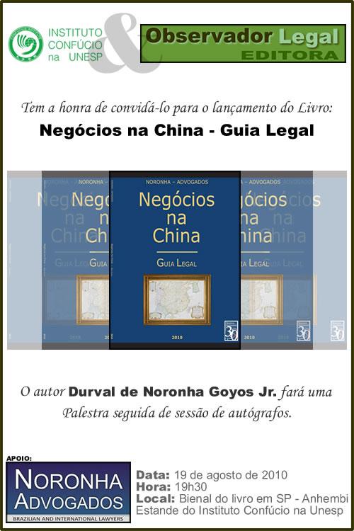 Convite - Bienal do Livro 2010