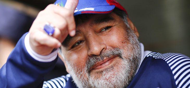 Deus convocou Maradona